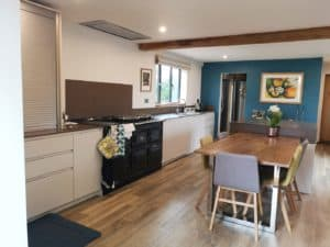 adding colour to a kitchen